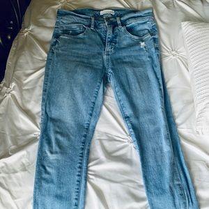 LOFT Skinny Cropped Jeans Size 26 Petite